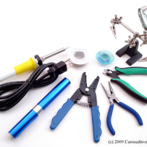 Electronics Essentials Basic Tool Kit-0