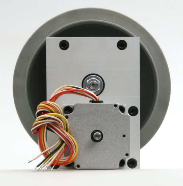 Robotics Gearbox, Stepper Motor and Wheel-850