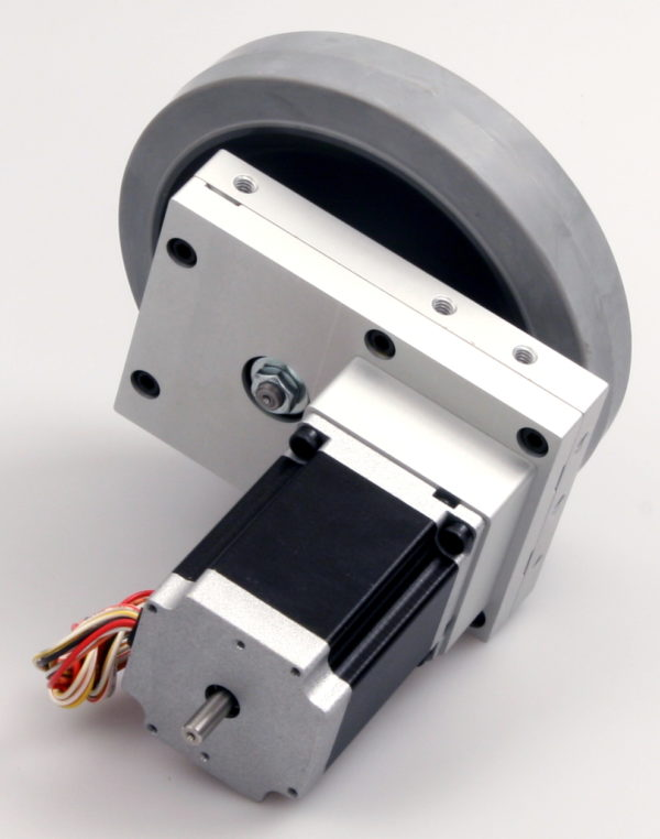 Robotics Gearbox, Stepper Motor and Wheel-849