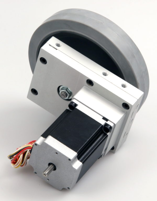 Robotics Gearbox, Stepper Motor and Wheel-844