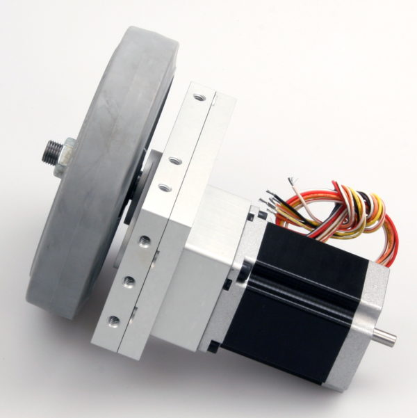 Robotics Gearbox, Stepper Motor and Wheel-852