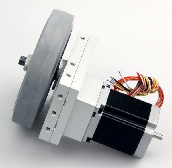 Robotics Gearbox, Stepper Motor and Wheel-842