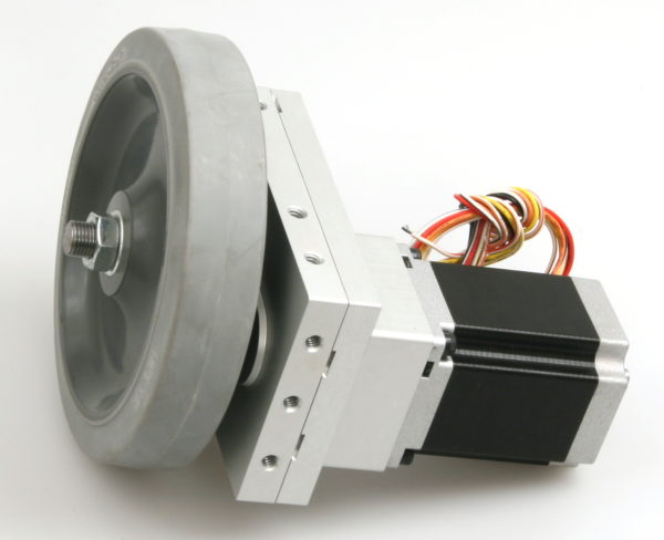 Robotics Gearbox, Stepper Motor and Wheel-847