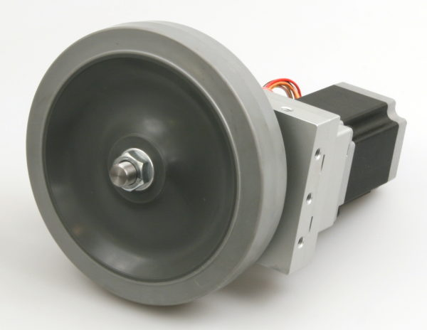 Robotics Gearbox, Stepper Motor and Wheel-846