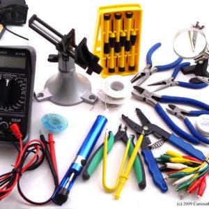 Professional Electronics Essentials Tool Kit-0