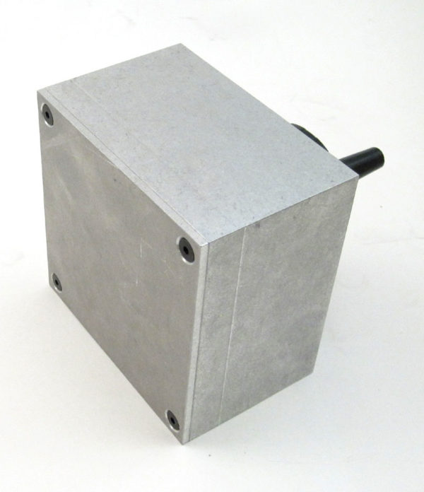 Hand Crank Pulse Generator in Aluminum Case-805