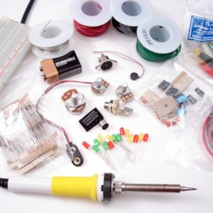 Electronics Tools and Parts Starter Kit-0