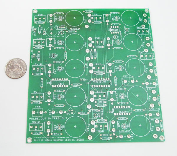 Voice of Saturn SEQUENCER - PCB only-0