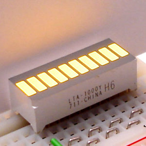 Yellow LED Bargraph-0