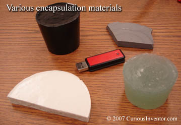 Various encapsulation materials